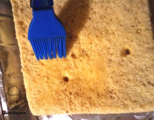 bagnate il pan di Spagna