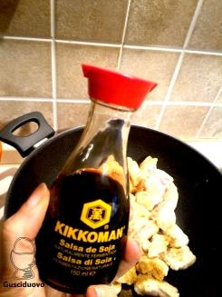 aggiungete salsa di soia